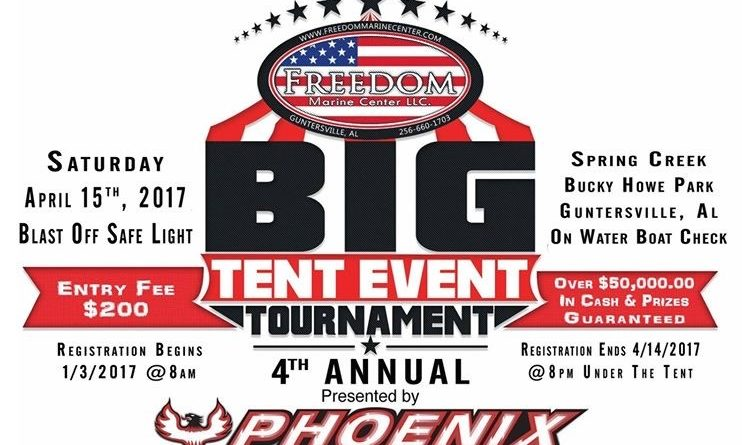 4th Annual Freedom Marine Center Tent Event and Tournament